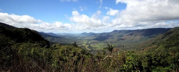Vistes de la vall de Pioneer des d'Eugnella